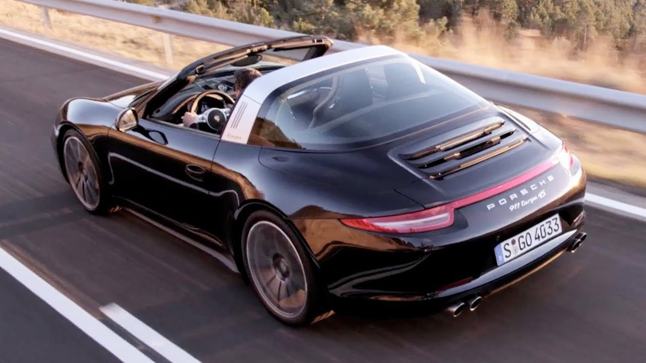 porsche 911 targa 4s 2015 driving youtube
