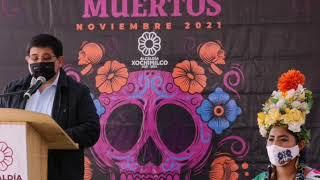Anuncian festividades de Día de Muertos en Xochimilco
