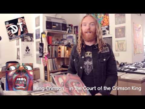DARK TRANQUILLITY - Mikael Stanne record store video