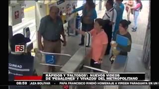 Repeat youtube video Incidentes en el Metropolitano registrados en video