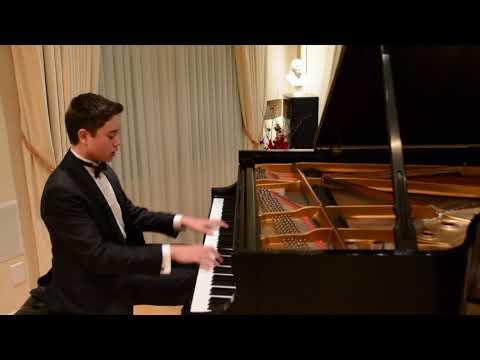 Ryan plays Beethoven Sonata No  11 in B flat Major, Op  22