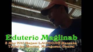 Bagani Lagidong Mansaka Tribal Clan Based In Pamintaran, Maragusan, Compostela Valley (sarx Lanos)