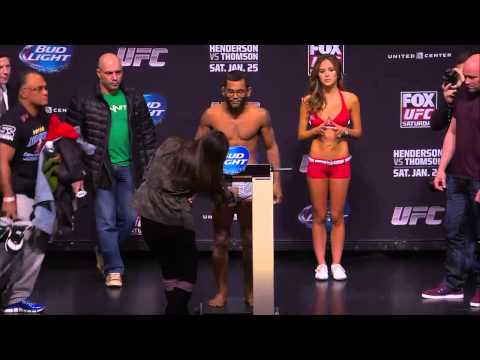 UFC on FOX 10: Official Weigh-In
