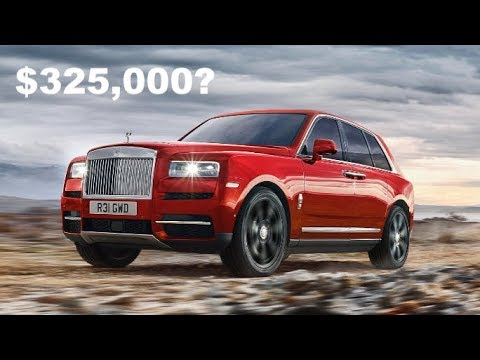 Here's Why The Rolls Royce Cullinan Is The Best SUV Of 2019