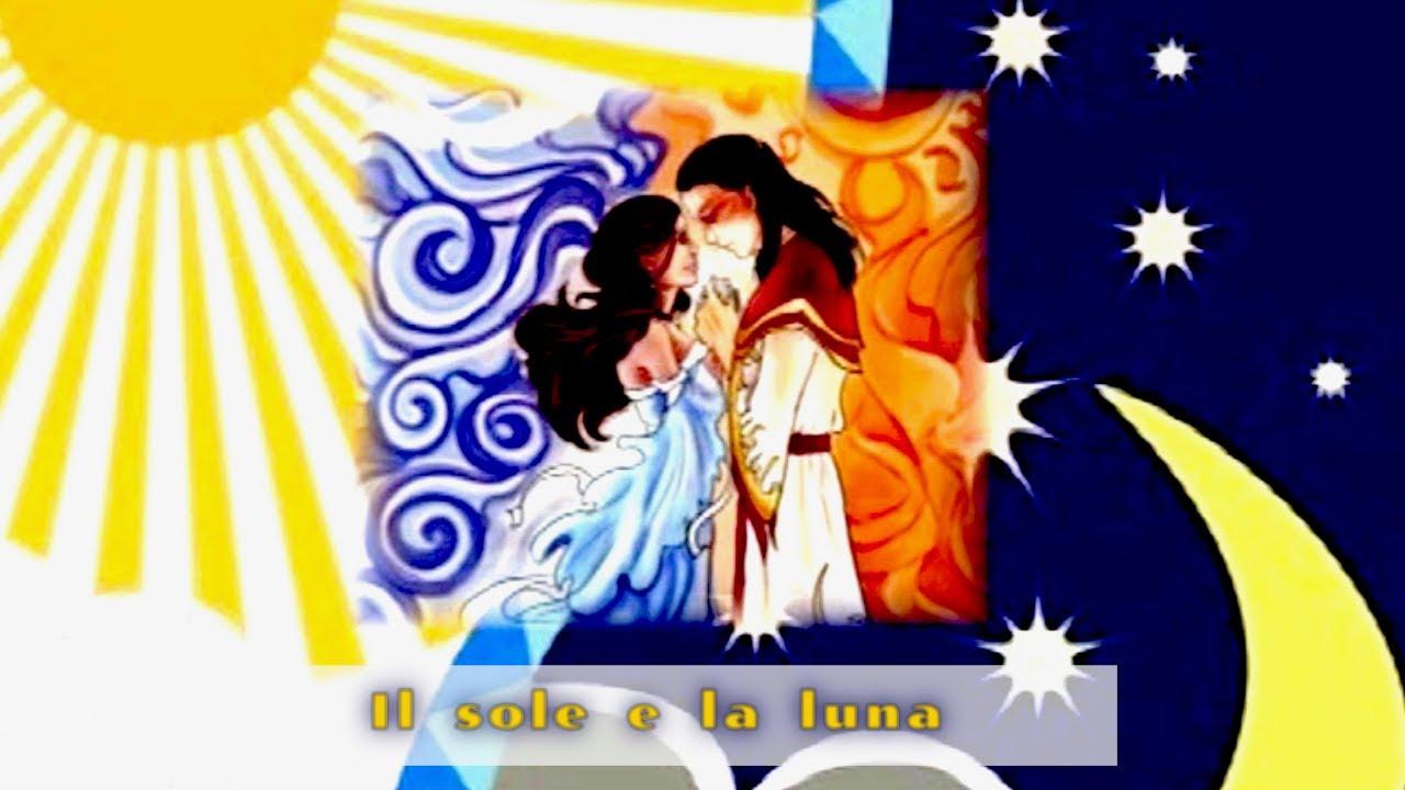 Molto Il sole e la luna - fiabe sonore - fiabe per bambini - fiaba - YouTube UV99