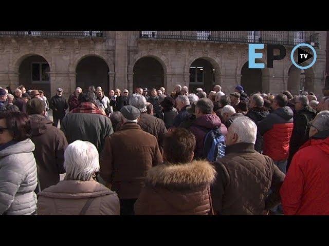 Concentración de pensionitas en Lugo