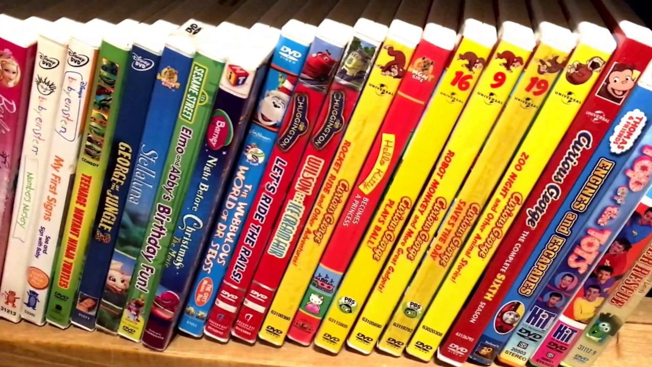 Kids Dvd Movie Collection 11 1 Barney Dora The Explorer