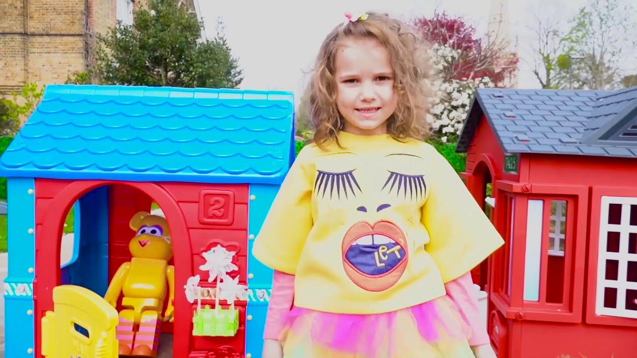 Макс и Катя и их домики