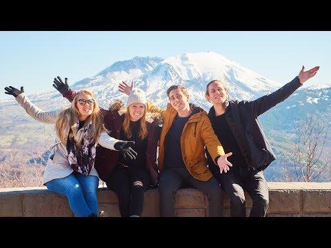 Incredible Nature at Mount St Helens! ⛰(Washington State Travel Vlog)