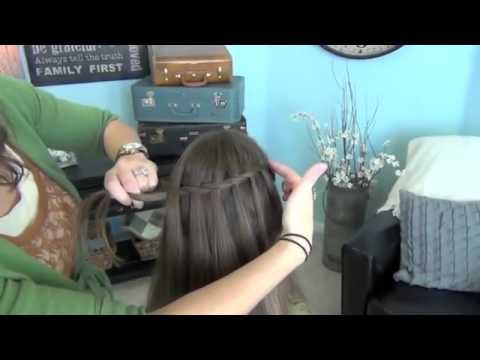 Hướng dẫn tết tóc thác nước