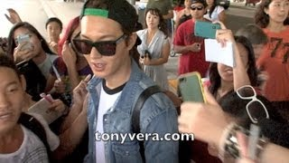Lee Min ho Fans go Crazy when they meet him at LAX