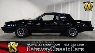 1987 Buick Regal Grand National, Gateway Classic Cars of Nashville #84