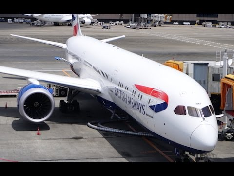 British Airways 787-9 Club World / Business class flight report - Tokyo to London (1080p 60FPS)