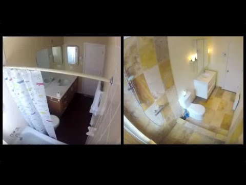 Modernized Bathroom Renovation Timelapse Start to Finish