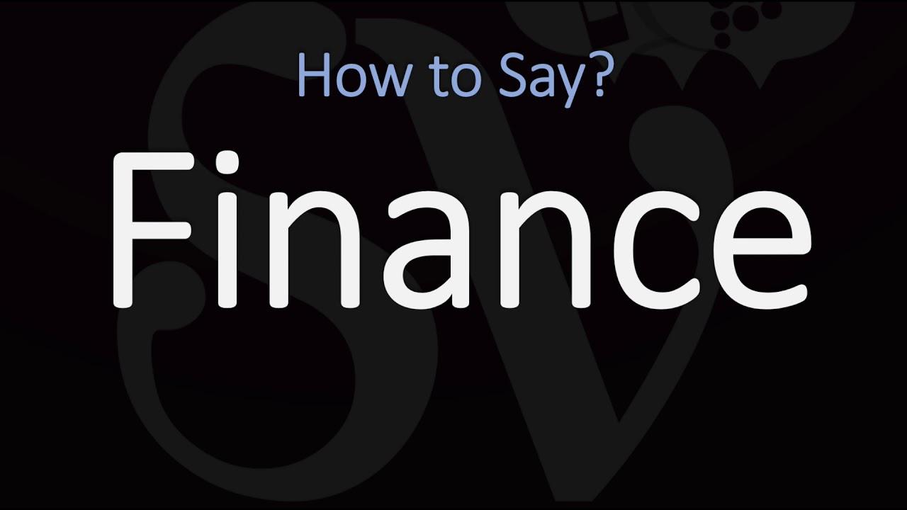 How to Pronounce Finance? (8 WAYS!) British & American English Pronunciation