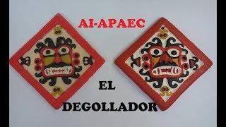 EL DEGOLLADOR hecho con plastilina (Cultura Mochica)