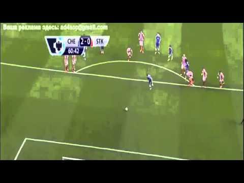 Chelsea vs Stoke City 2014 3-0  All Goals 5/4/2014
