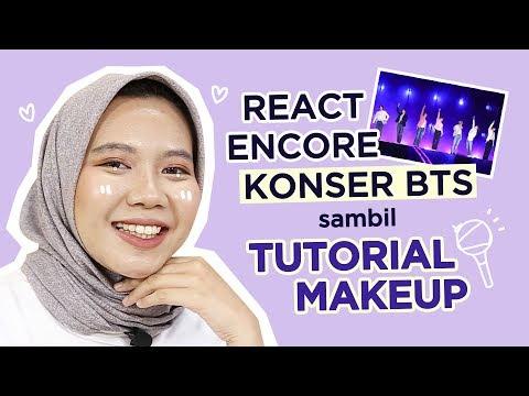 Makeup Sambil React Encore BTS | One Brand Makeup Tutorial thumbnail