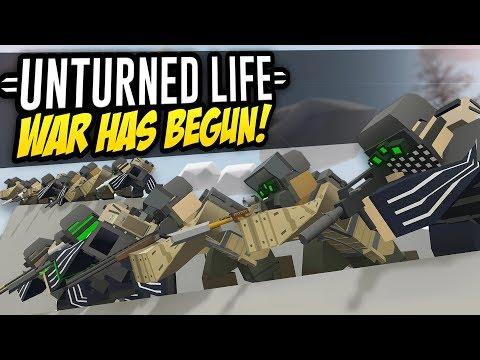 WAR HAS BEGUN - Unturned Life Roleplay #276