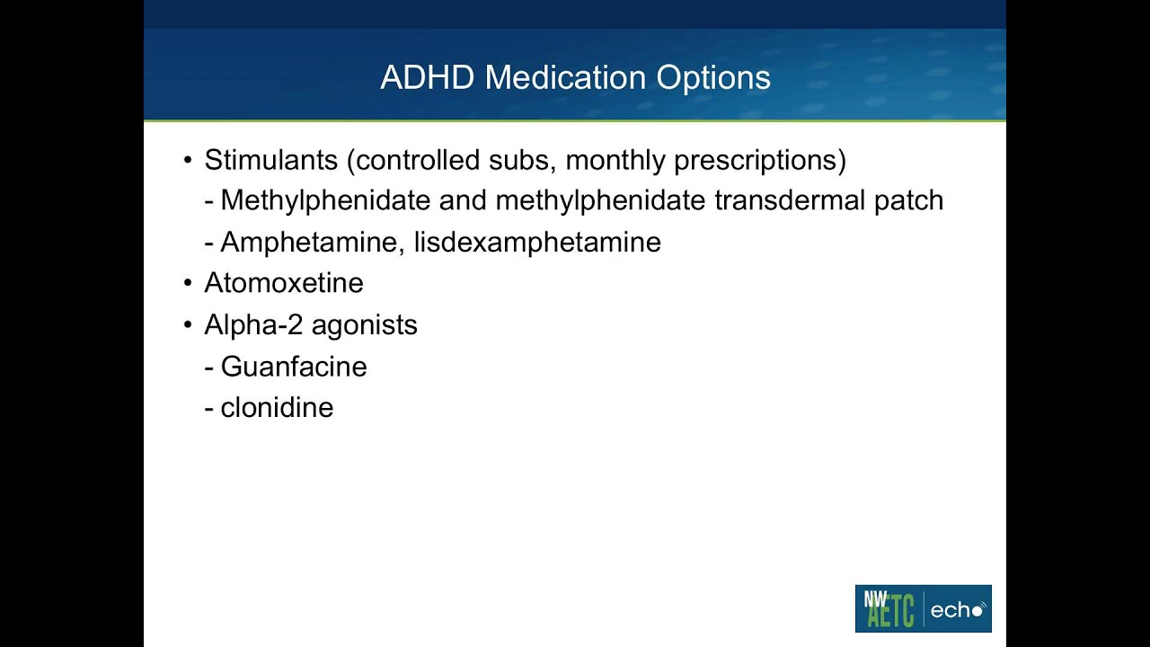 ADHD and HIV