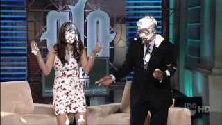 Sarah Shahi pie in the face