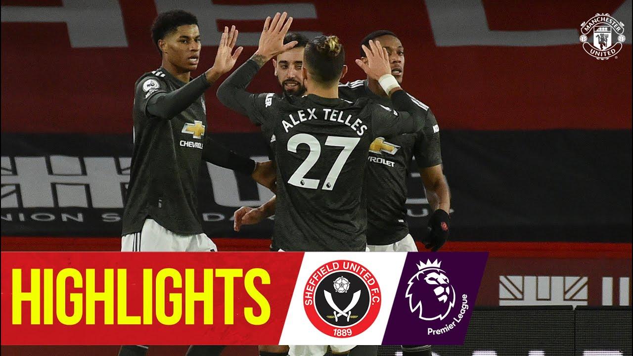 Download Highlights | Rashford & Martial seal tenth straight PL away win | Sheff Utd 2-3 Manchester United