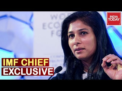 IMF Chief Gita Gopinath Speaks On India's Growth & Economy | India Today Exclusive