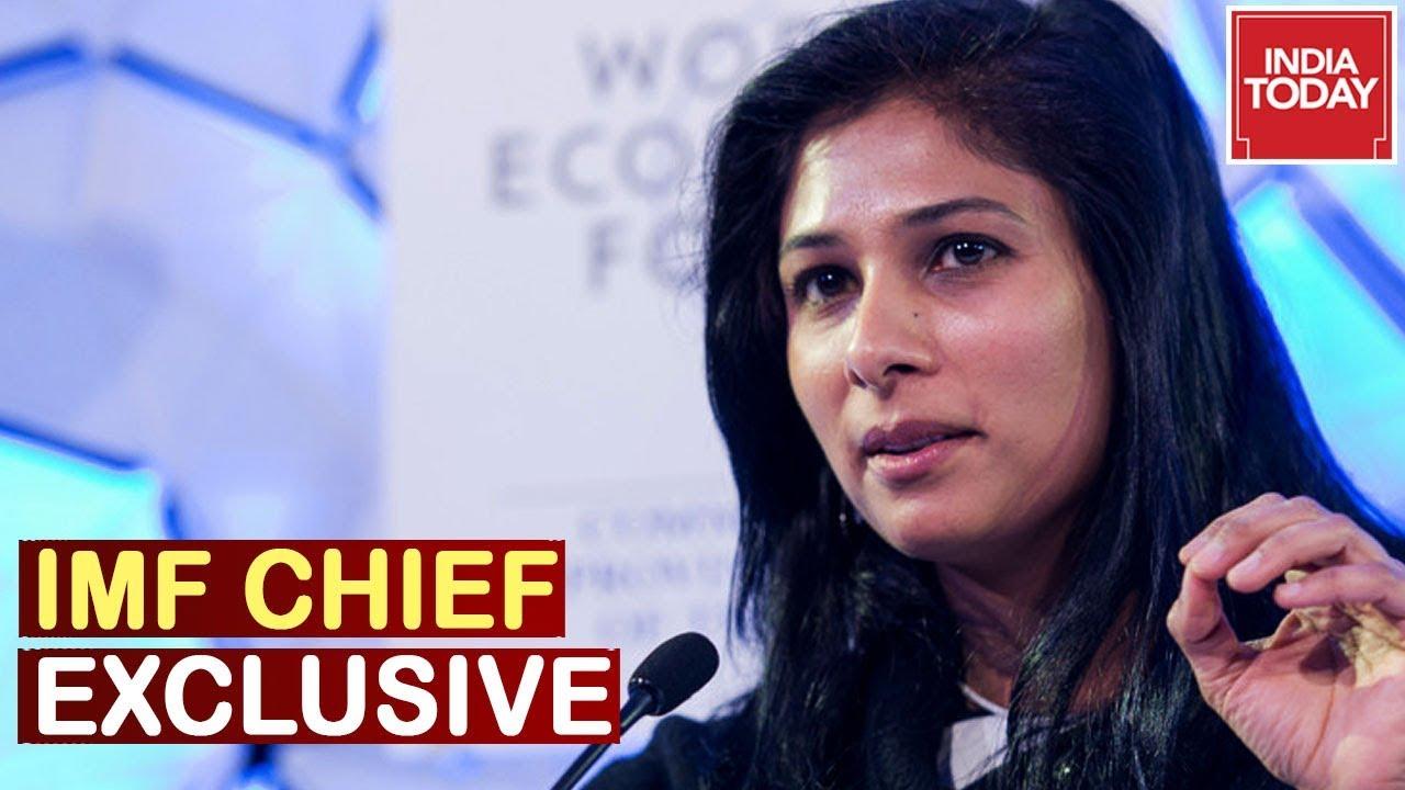 IMF Chief Gita Gopinath Speaks On India's Growth & Economy   India Today Exclusive