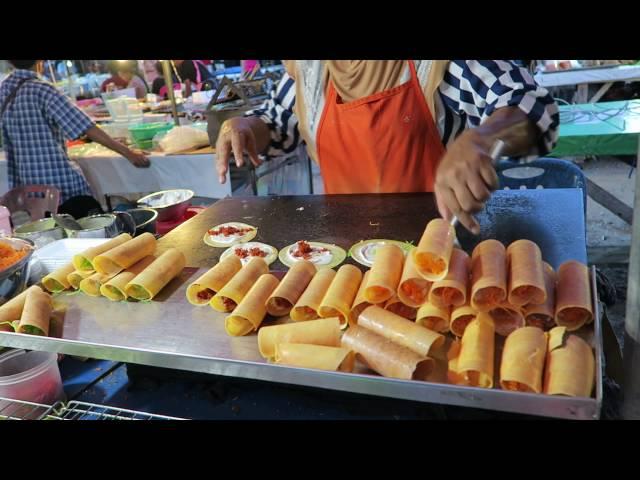 Folded Hotcakes | Phuket | Street Food Thailand | Phuket Rawai Beach
