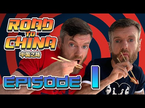 ROAD TO CHINA E1 | CENTURY EGG, REACT VIDEOS 皮蛋挑战、反应视频、筷子比赛