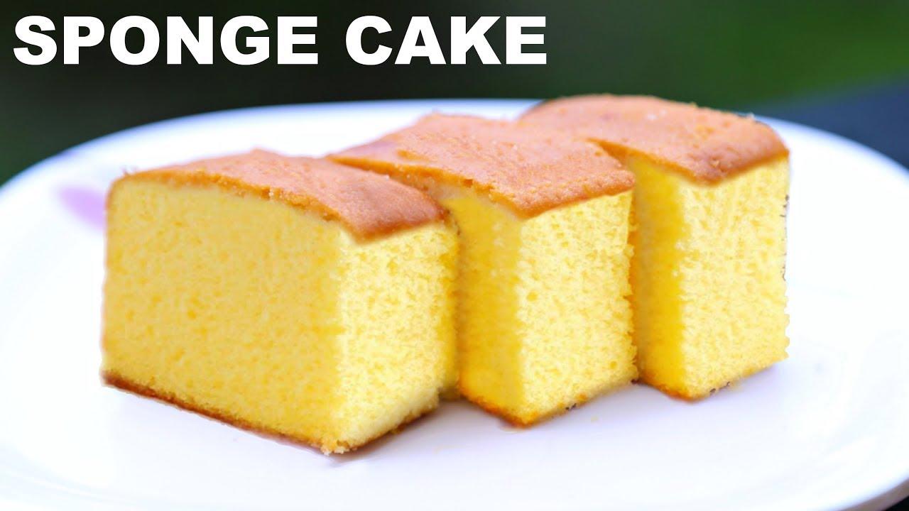 How To Make A Plain Sponge Cake