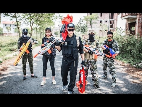 LTT Nerf War : Two Special police Attack Crime Group | SEAL X Fight Rescue the lover By Nerf Guns
