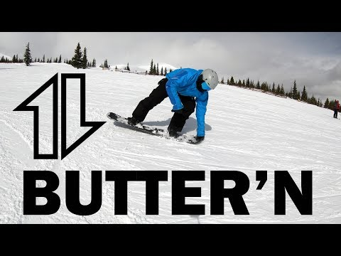 Snowboard Buttering