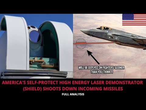 MISSILES GET KNOCKED DOWN BY AMERICA's NEW LASER WEAPON !