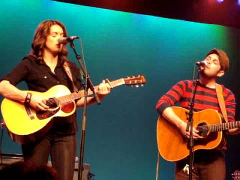 Brandi Carlile & Gregory Alan Isakov - You Belong to Me - 3/28/09 - Westhampton Beach, NY