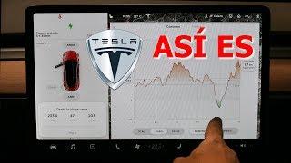 Prueba a fondo Tesla Model 3 (I) - Funcionamiento de la pantalla