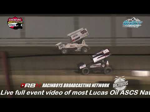 Highlights of Night One of The Battle at Big Sky for the American Sprint Car Series National Tour from Big Sky Speedway in Billings MT held July 19 2019. - dirt track racing video image