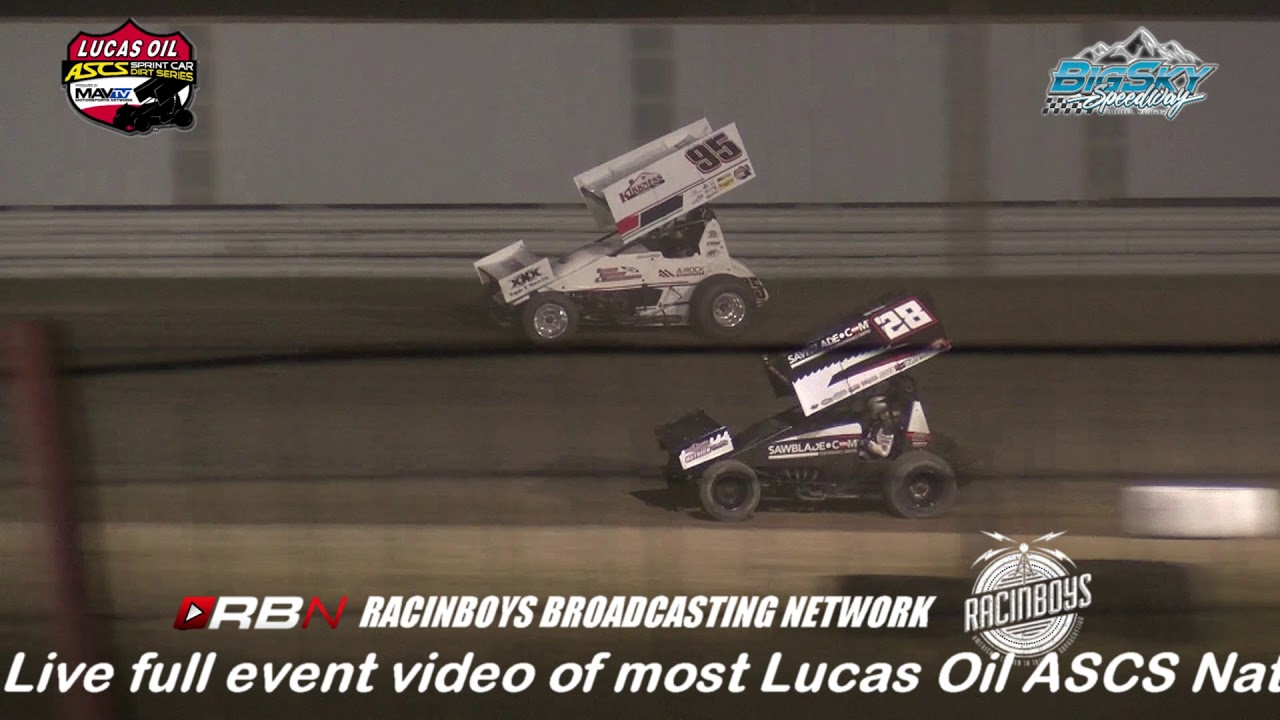 LUCAS OIL ASCS NATIONAL TOUR HIGHLIGHTS FROM BILLINGS MT  7.19.19