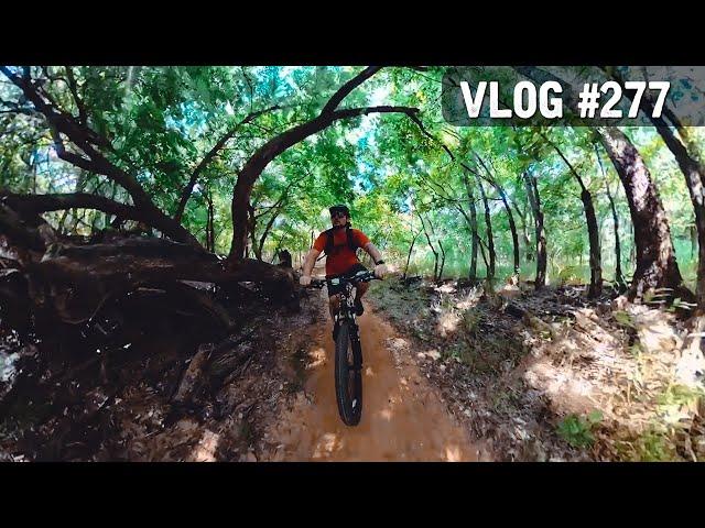 VLOG #277 / Mountain Biking BLUFF CREEK Park in OKC! / July 24, 2020