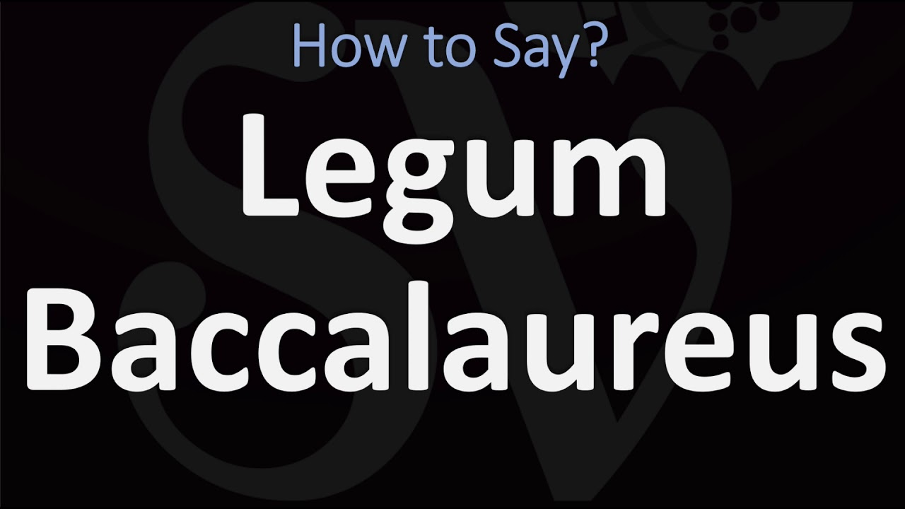 How to Pronounce Baccalaureate? (CORRECTLY) - YouTube