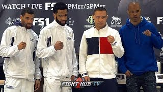 LAMONT PETERSON  VS. SERGEY LIPINETS - THE FULL FINAL PRESS CONFERENCE & FACE OFF - LIVE