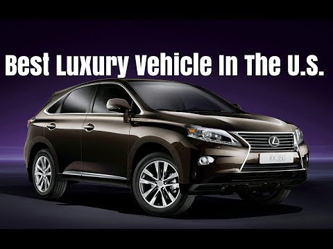 Best Selling Luxury Vehicle in the US Lexus RX 350 2013 In Depth Review