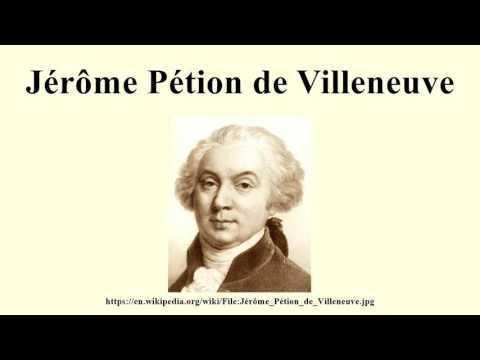 Jérôme Pétion de Villeneuve