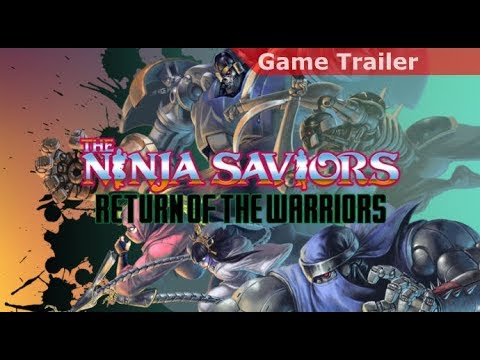 Release date confirmed for Taito's Ninja Saviors