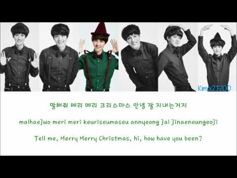 EXO-K - First Snow (첫 눈) [Hangul/Romanization/English] Color & Picture Coded HD