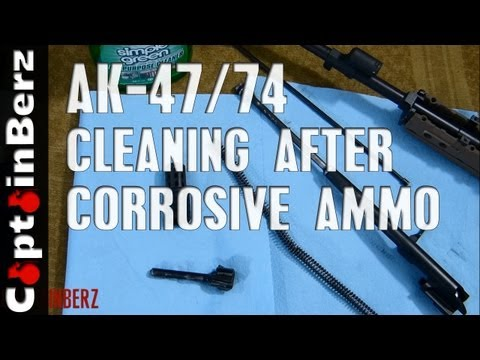 Cleaning After  Corrosive Ammo Usage (AK-47/74)