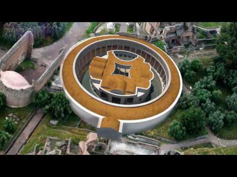 Deniz Tiyatrosu, Hadrian Villası, Tivoli (Sanat Tarihi / Antik Akdeniz Sanatı)