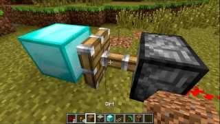 Как сделать генератор алмазов в Майнкрафт (Дарт Вейдер)