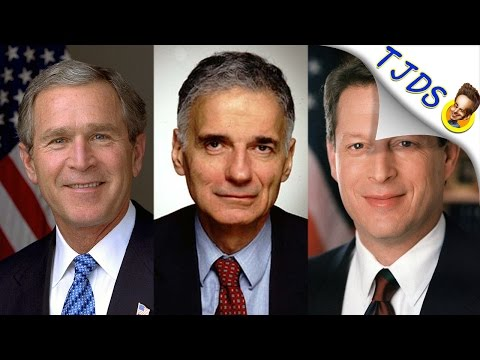 Definitive Proof Ralph Nader Didn't Cost Al Gore The Election