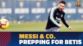 Messi goals highlight Thursday workout